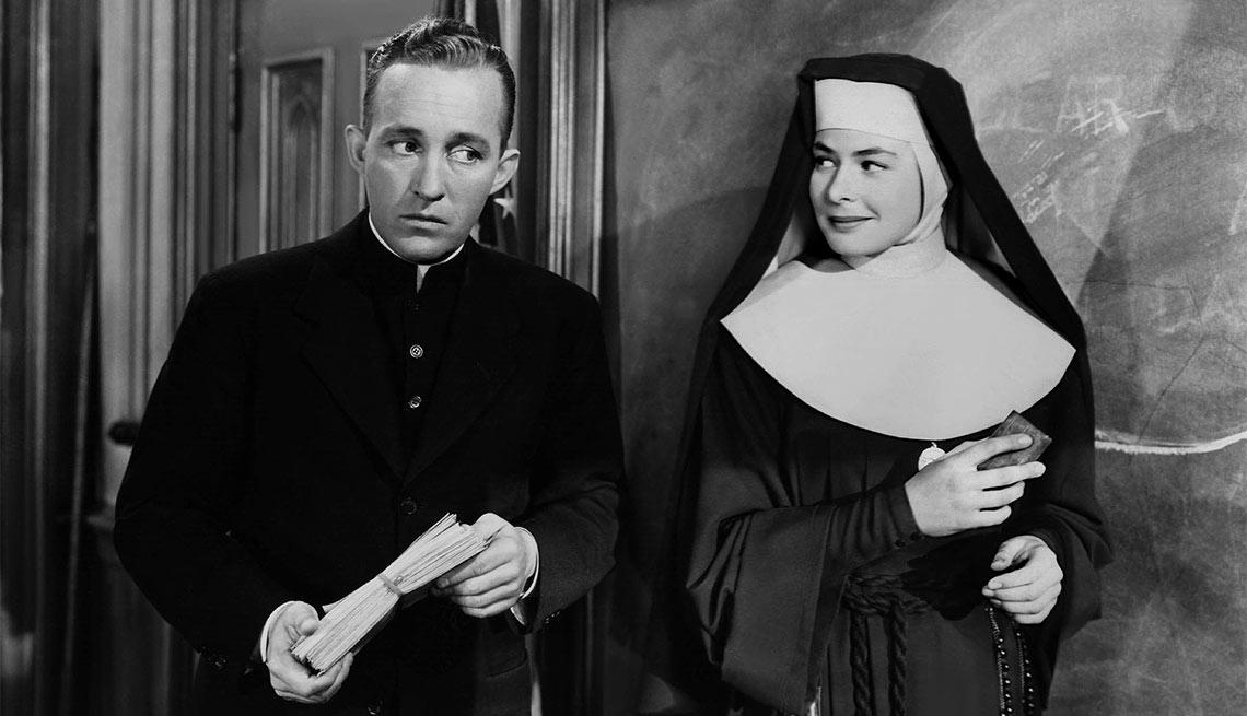 The Bells of St. Mary's, película con Ingrid Bergman, una actriz de la era dorada de Hollywood a 100 años de su natalicio.