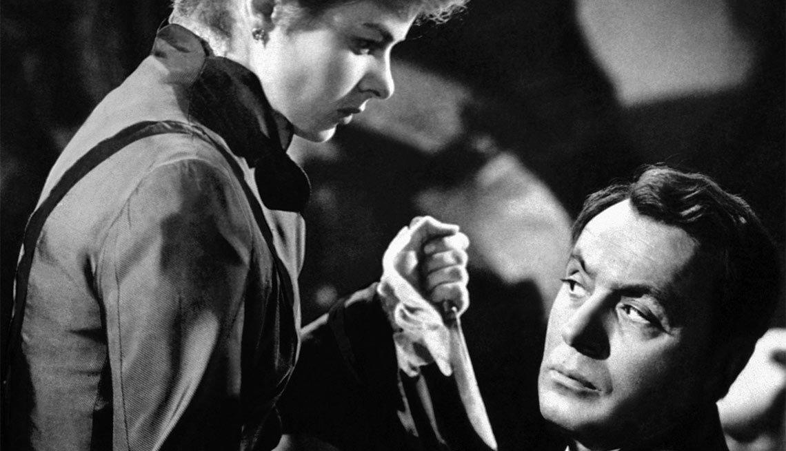 Una escena de Gaslight, película con Ingrid Bergman, una actriz de la era dorada de Hollywood a 100 años de su natalicio