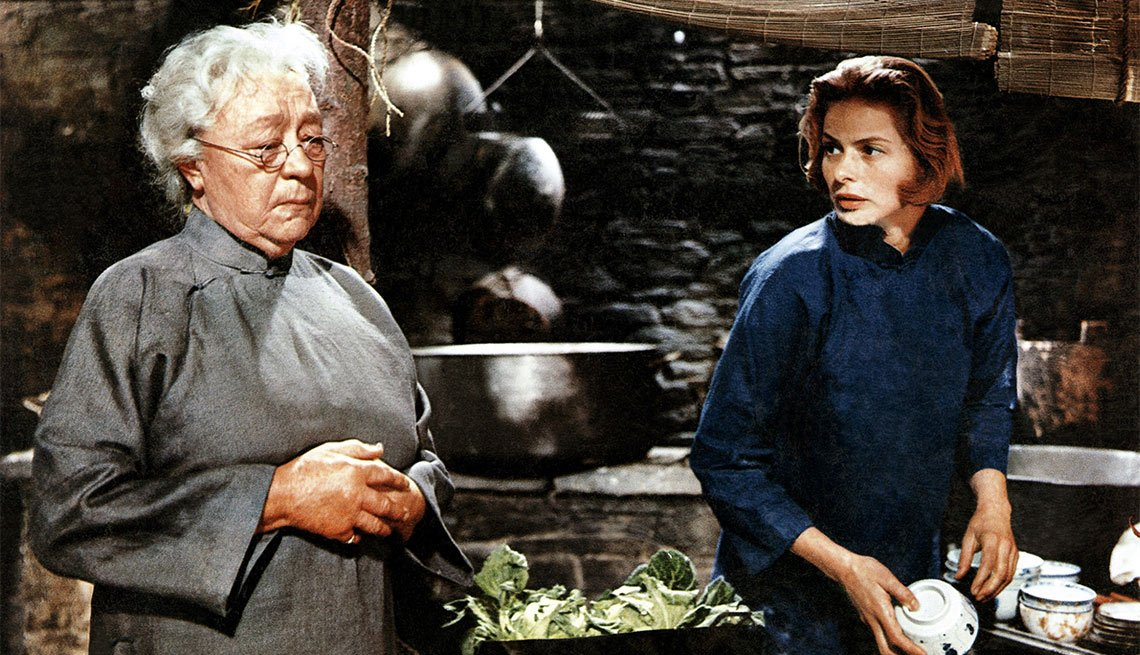 Una escena de The Inn of the Sixth Happiness, película con Ingrid Bergman, una actriz de la era dorada de Hollywood a 100 años de su natalicio.
