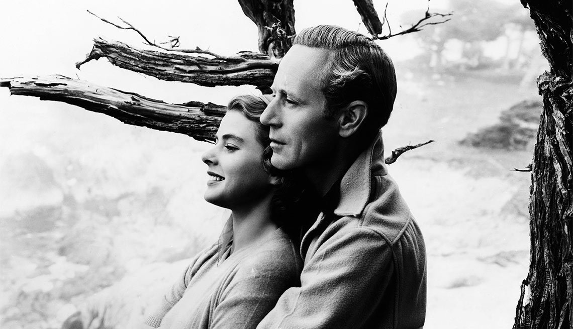 Una escena de Intermezzo, una película con Ingrid Bergman, una actriz de la era dorada de Hollywood