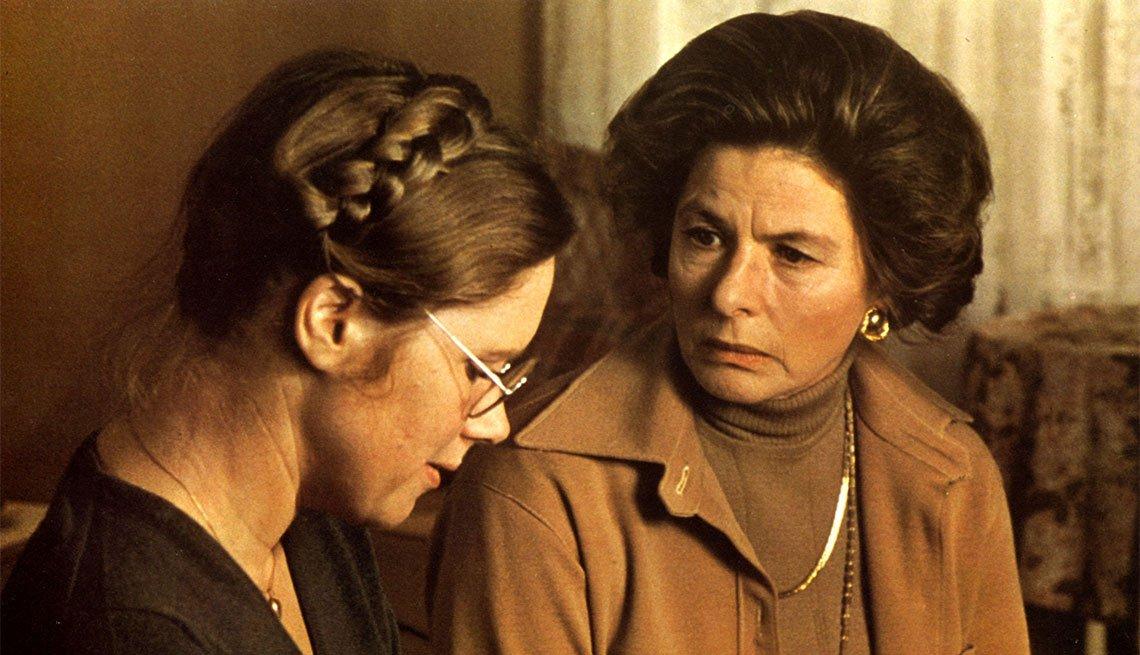 Una escena de Sonota otoñal, película con Ingrid Bergman, una actriz de la era dorada de Hollywood a 100 años de su natalicio.
