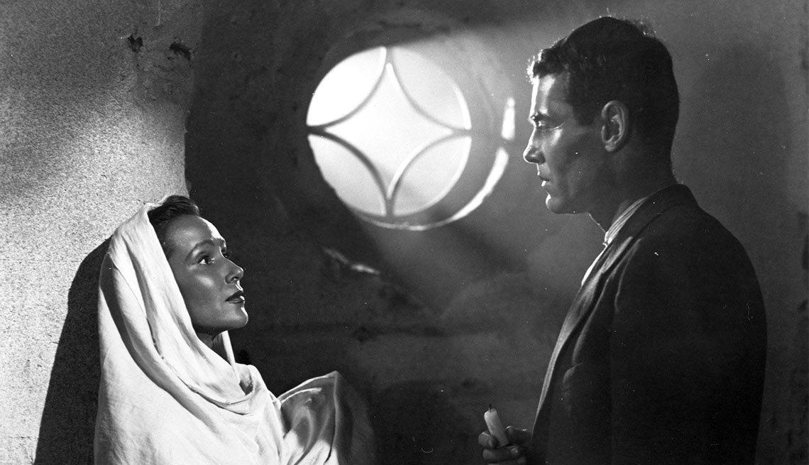 Dolores del Río y Henry Fonda - Actriz de la época dorada del cine mexicano y Hollywood