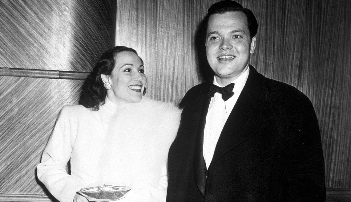 Dolores del Río and Orson Welles - Actriz de la época dorada del cine mexicano y Hollywood
