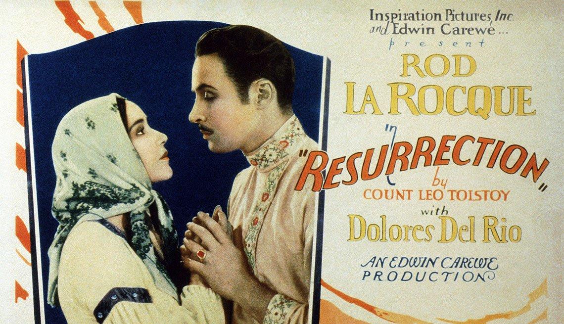 Dolores del Río en Resurrection - Actriz de la época dorada del cine mexicano y Hollywood