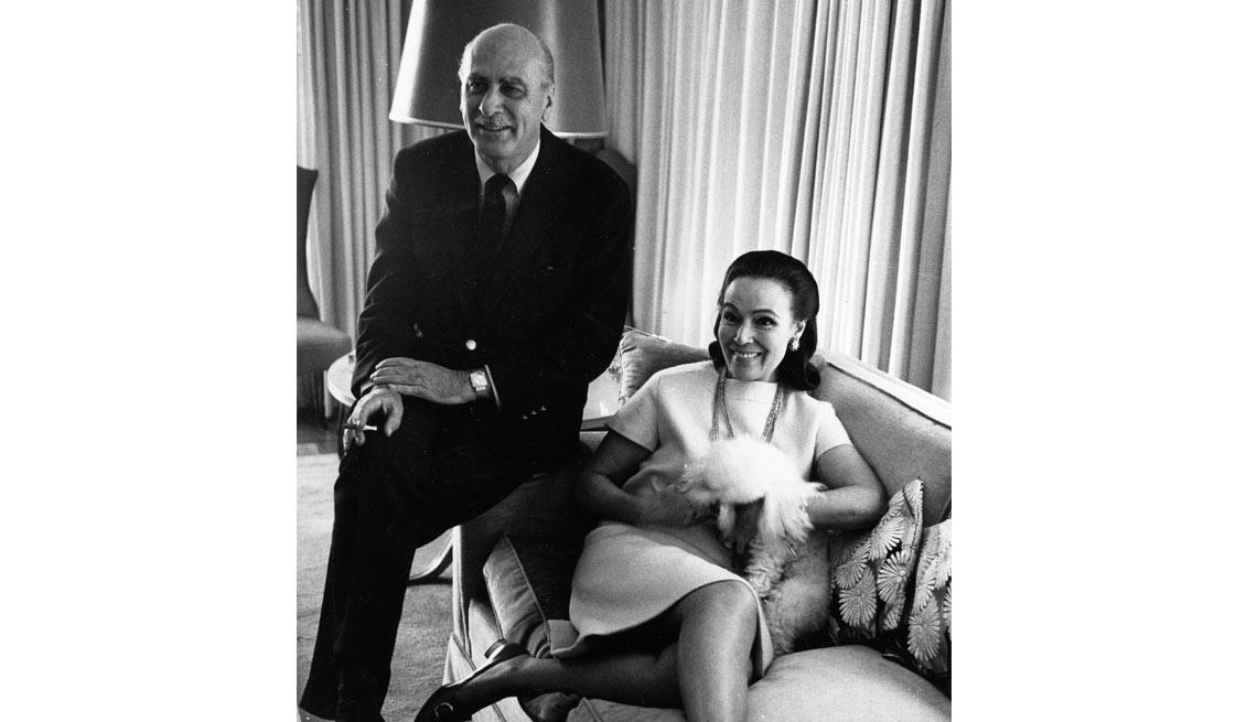 Dolores del Río y Lewis Riley - Actriz de la época dorada del cine mexicano y Hollywood