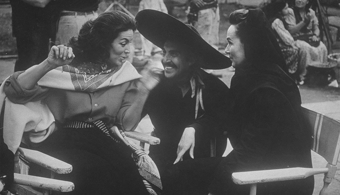 Dolores del Río y Maria Félix - Actriz de la época dorada del cine mexicano y Hollywood