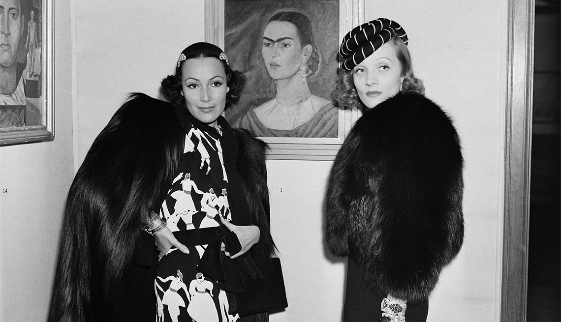 Dolores del Río y Marlene Dietrich - Actriz de la época dorada del cine mexicano y Hollywood