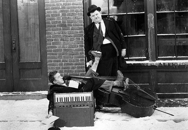 Versión en español de Laurel y Hardy en Below Zero - Actores hispanos en películas de Hollywood