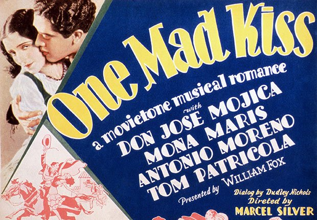 Versión en español de One Mad Kiss - Actores hispanos en películas de Hollywood