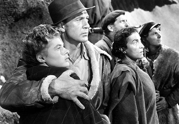 Una escena de For Whom the Bell Tolls, película con Ingrid Bergman, una actriz de la era dorada de Hollywood a 100 años de su natalicio