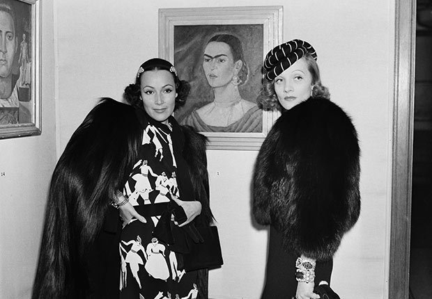Dolores Del Rio y Marlene Dietrich - Actriz de la época dorada del cine mexicano y Hollywood