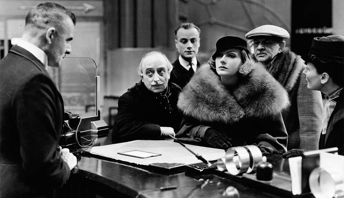 Greta Garbo en Grand Hotel - Greta Garbo, recuento de su carrera en imágenes