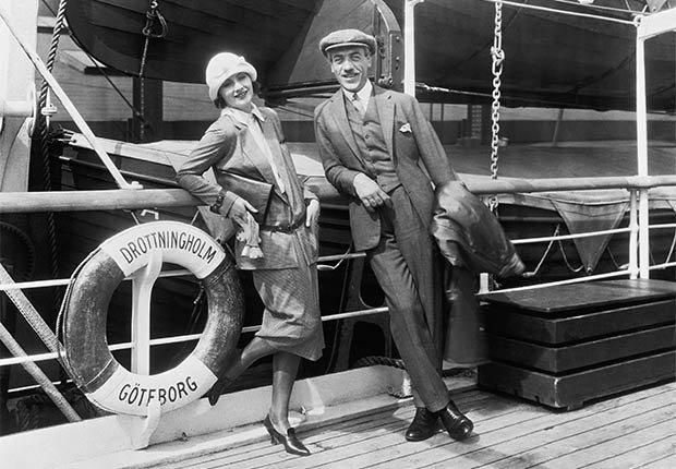 Greta Garbo y Mauritz Stiller - Greta Garbo, recuento de su carrera en imágenes