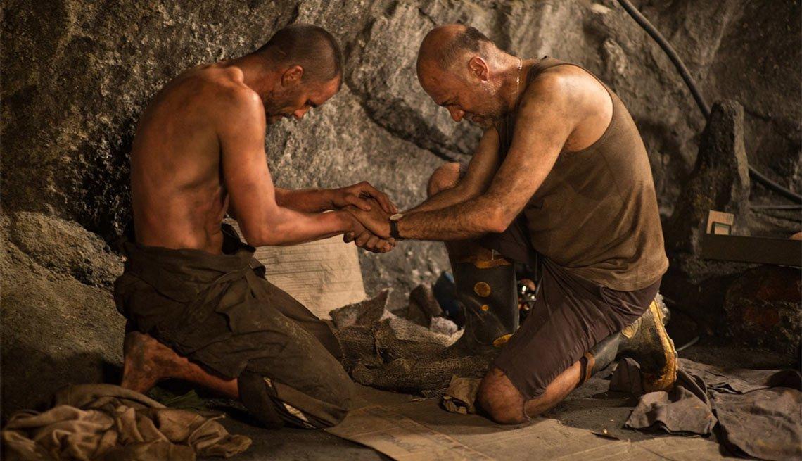 Juan Pablo Raba como Darío Segovia en Los 33 - 5 años después del rescate de los 33 mineros chilenos