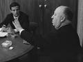 François Truffaut y Alfred Hitchcock