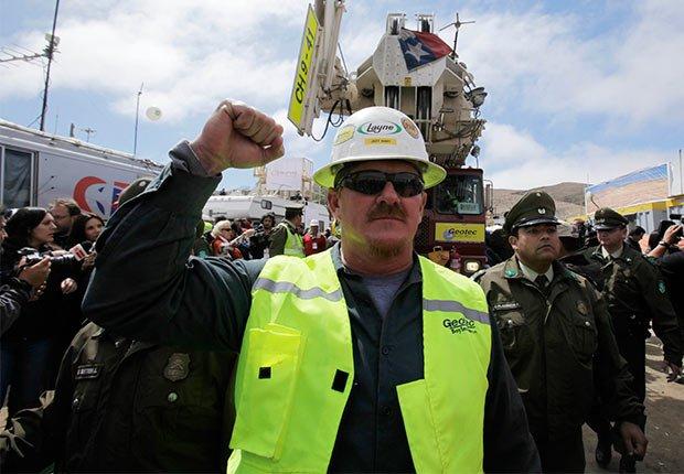 Jeff Hart - 5 años después del rescate de los 33 mineros chilenos