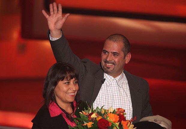 Mario Sepúlveda y Katy Valdivia - 5 años después del rescate de los 33 mineros chilenos