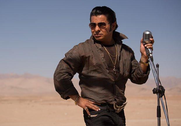 El actor Jacob Vargas como Edison Penz en la película Los 33 - 5 años después del rescate de los 33 mineros chilenos