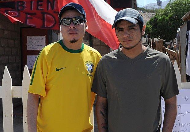 Pedro Cortés y Carlos Bugueno - 5 años después de los 33 mineros chilenos rescatados de una mina