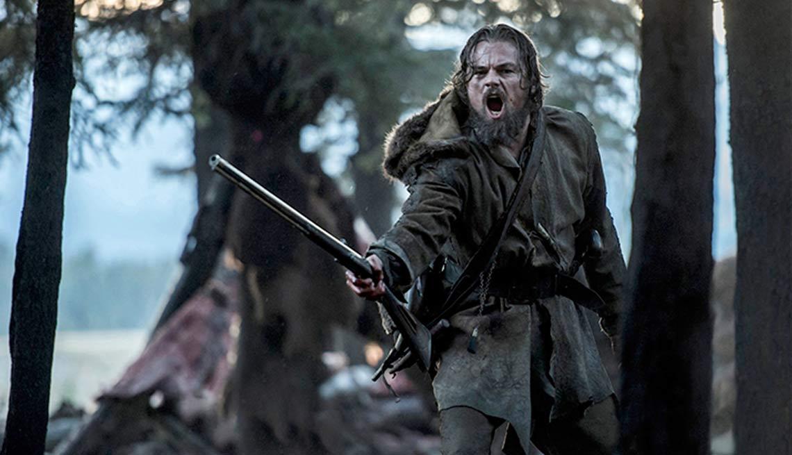 Leonardo DiCaprio en una escena de la película The Revenant
