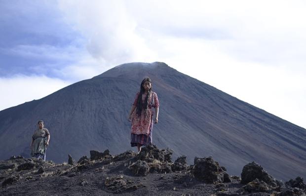 María Mercedes Coroy en una escena de la película guatemalteca 'Ixcanul'