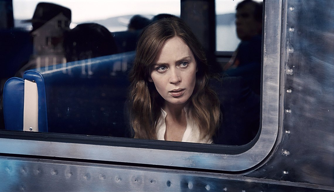 Emily Blunt en una escena de la película The Girl on the Train