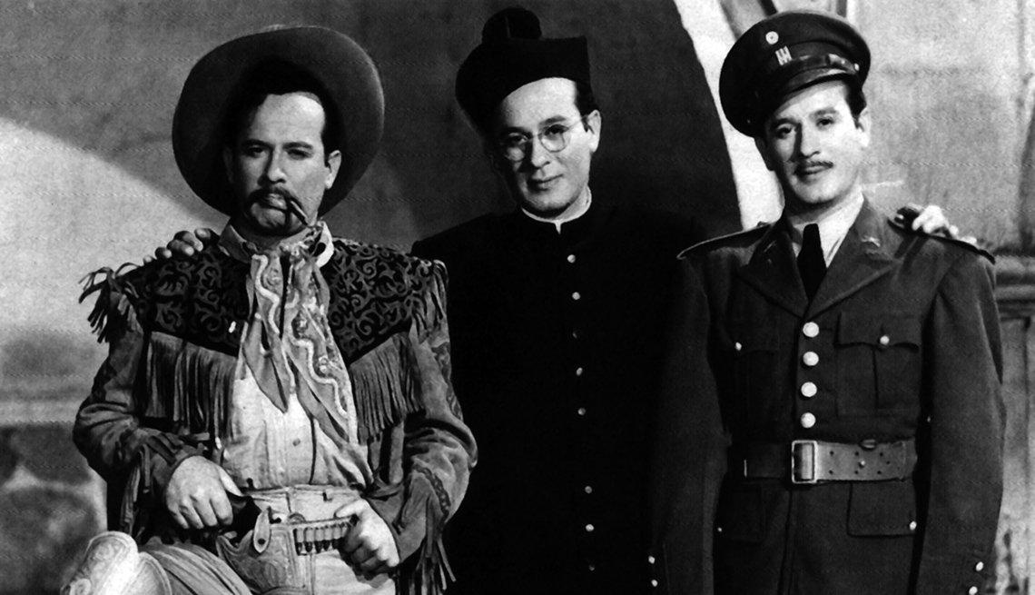Los tres huastecos (1948). Pedro Infante y 10 de sus películas para la historia.