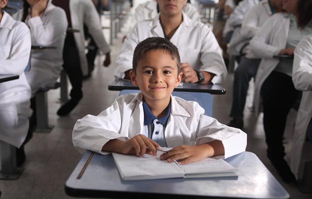 Martín Castro  en una escena de la película El Jeremías