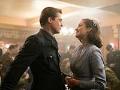 Escena de la película Allied protagonizada por Brad Pitt y Marion Cotillard