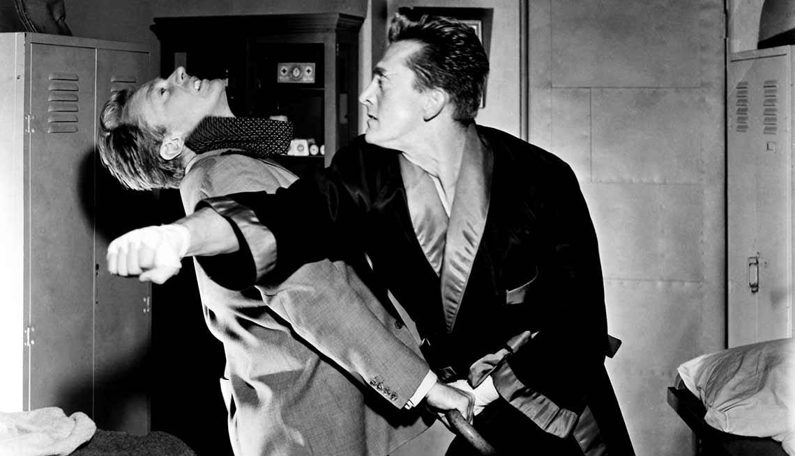 Kirk Douglas cumple 100 años - Una escena de la película Champion