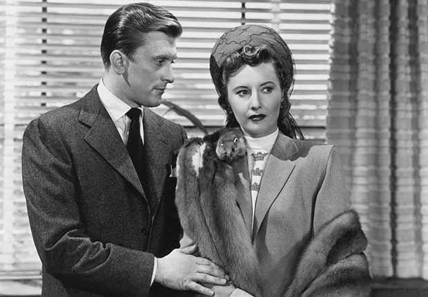 Kirk Douglas cumple 100 años - En una escena de la película The Strange Love of Martha Ivers de 1946