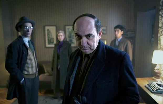 Escena de la película Neruda