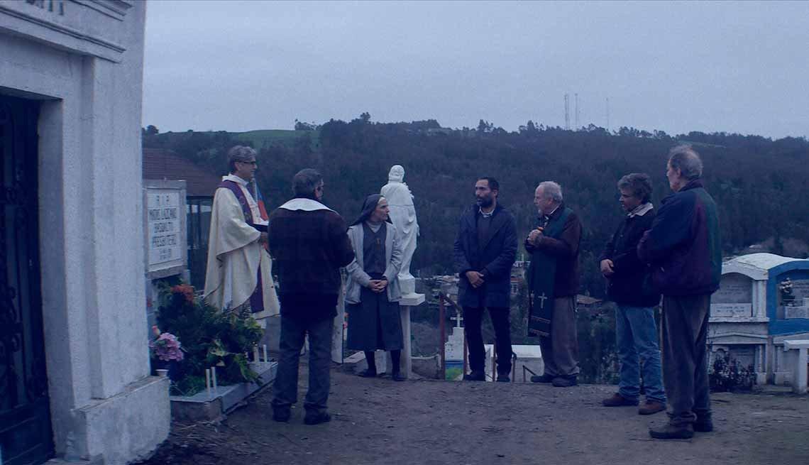 Escena de la película chilena, El club