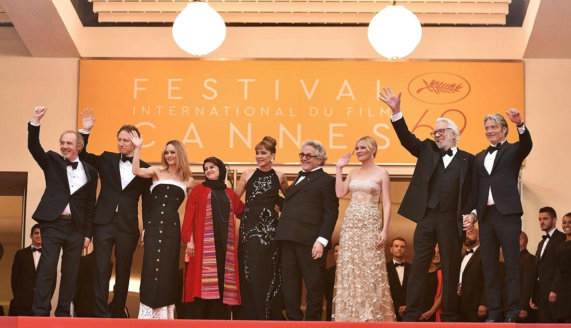 Ceremonia de cierre del Festival de Cine de Cannes, en Francia, 2016