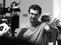 El director Julio Medem en el set de grabación de su película Ma ma
