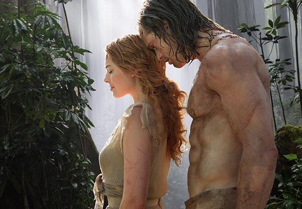 Margot Robbie y Alexander Skarsgard en 'The Legend of Tarzan' - Películas para ver en los estrenos de verano 2016