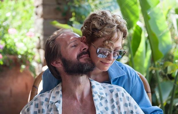 Ralph Fiennes and Tilda Swinton in 'A Bigger Splash'