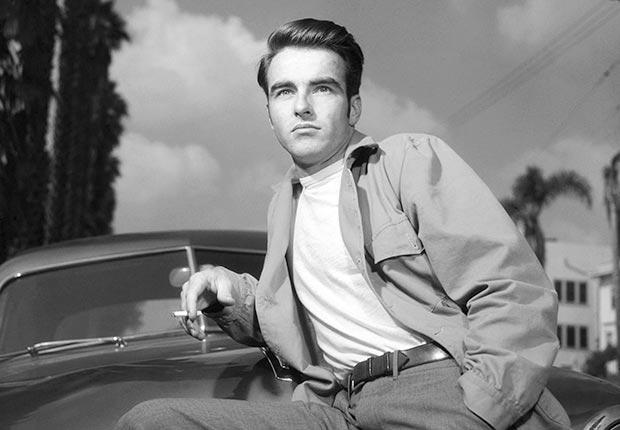 Montgomery Clift, leyenda de Hollywood, en una escena de Circa en 1950