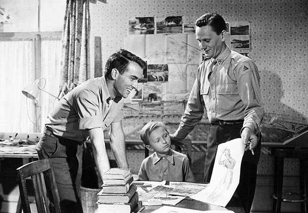 Montgomery Clift, leyenda de Hollywood, en una escena de 'The Search'