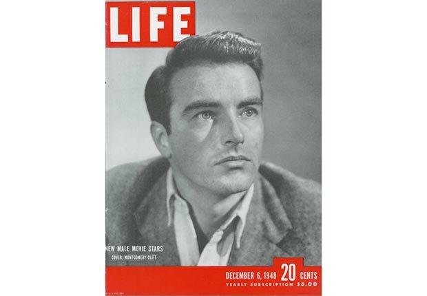 Montgomery Clift en la portada de la revista LIFE en 1948