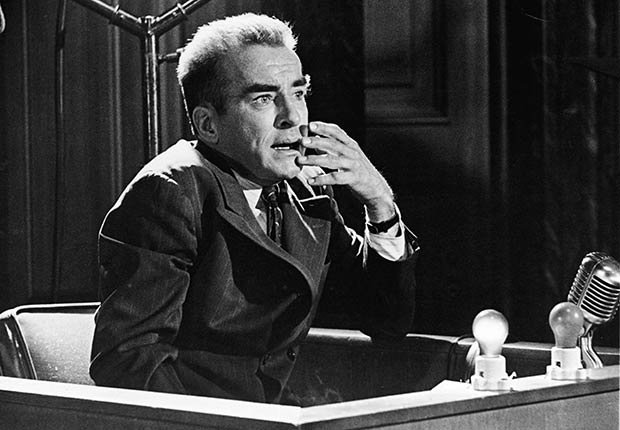 Montgomery Clift, una leyenda de Hollywood, en una escena de 'Judgement at Nuremberg'