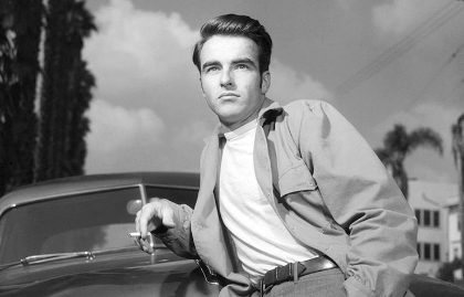 Montgomery Clift, leyenda de Hollywood, en una escena de Circa en 1950