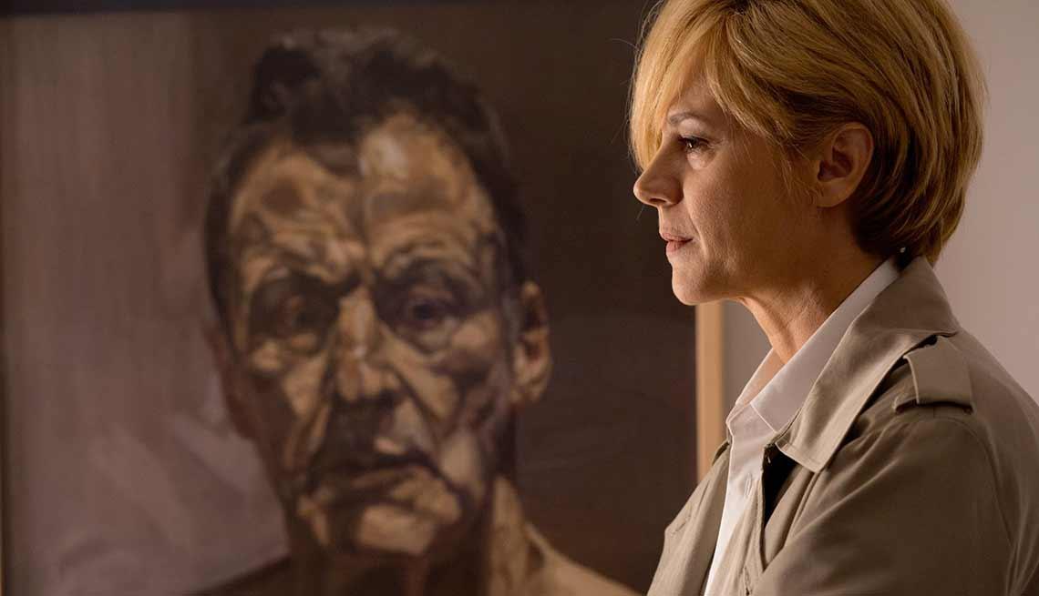 Emma Suárez en una escena de la película Julieta, de Pedro Almodóvar