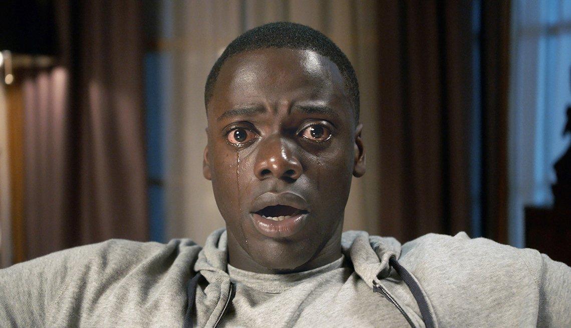Daniel Kaluuya en una escena de la película Get Out