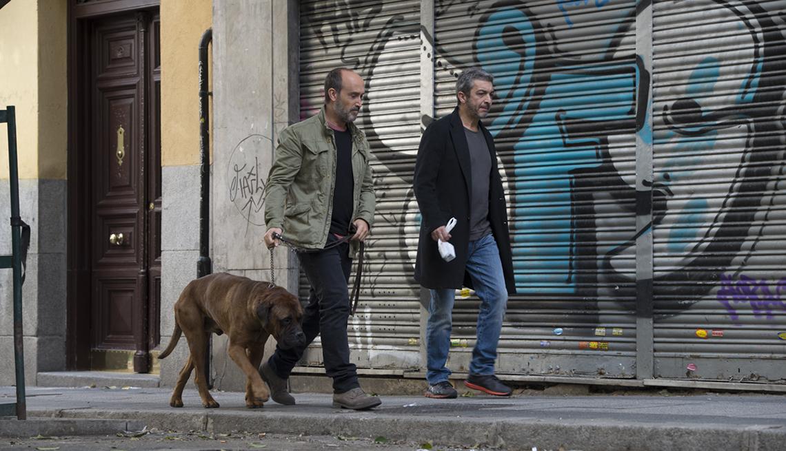 Javier Cámara y Ricardo Darín en una escena de la película Truman