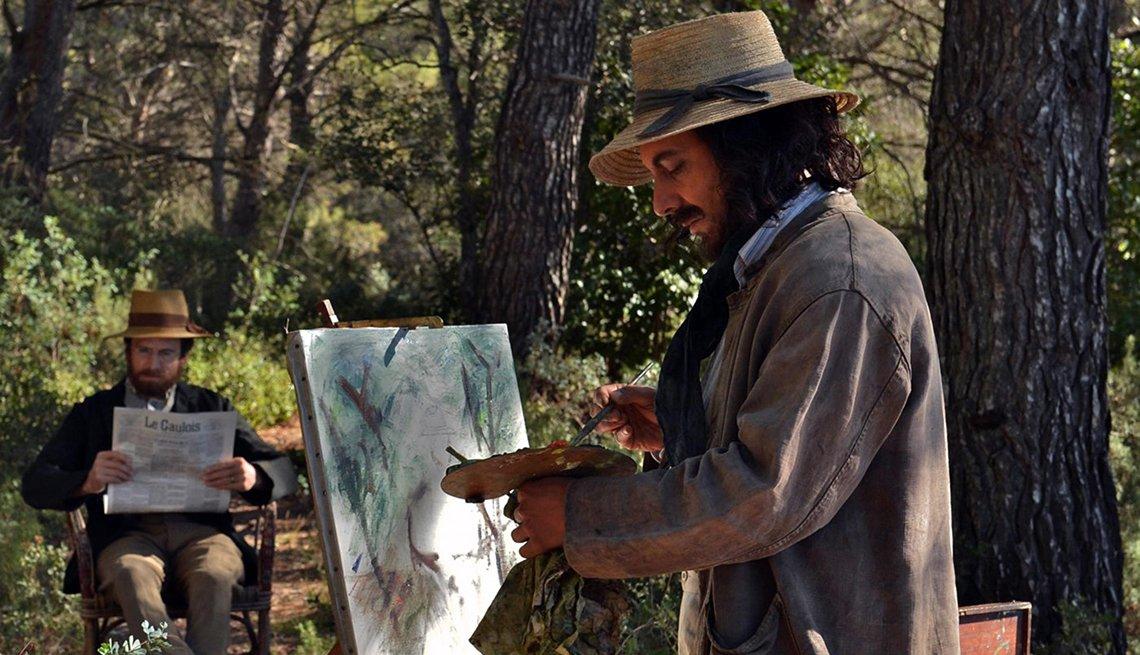 Guillaume Canet  y Guillaume Gallienne  en una escena de la película 'Cézanne et moi'.