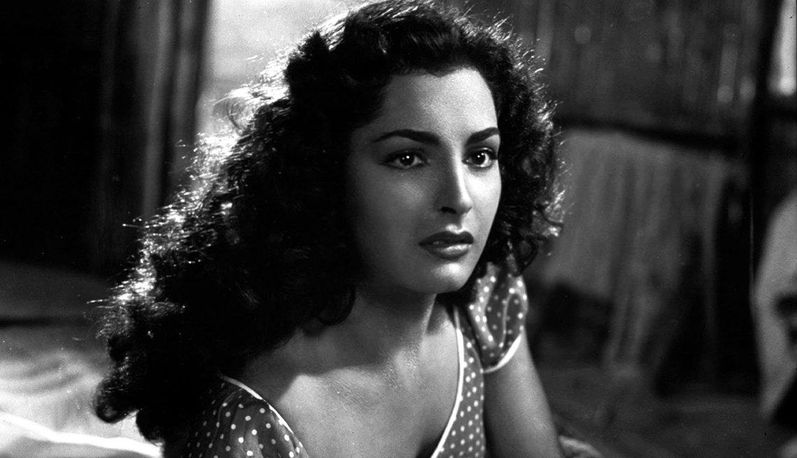 Retrato de Elsa Aguirre - Mujeres ícono del cine mexicano