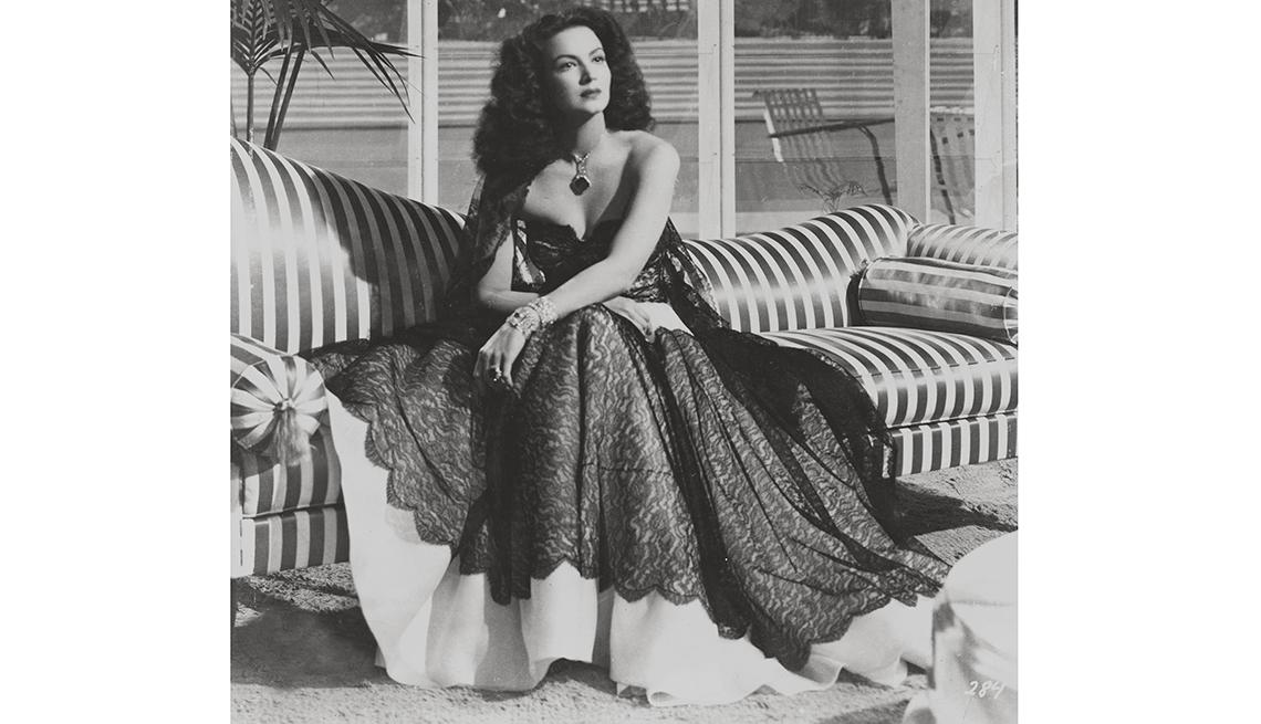 Retrato de Maria Felix - Mujeres ícono del cine mexicano