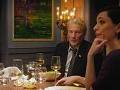 Richard Gere y Rebecca Hall en una escena de The Dinner, 2017