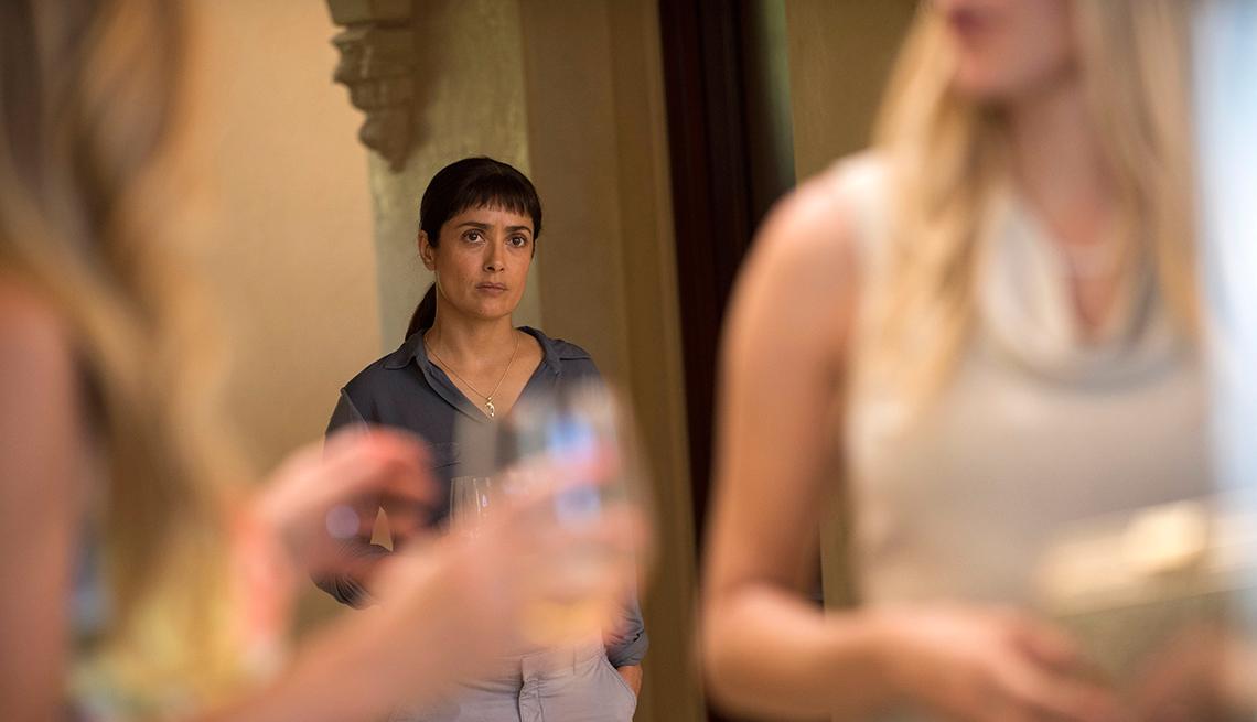 Escena de la película Beatriz at Dinner
